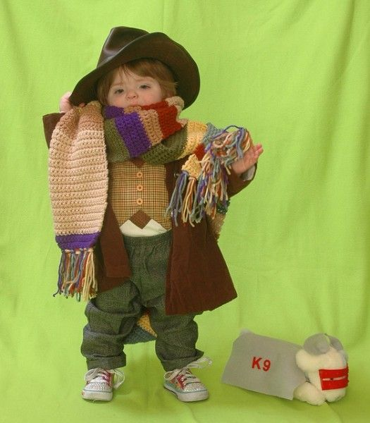 #DoctorWho The 4th Doctor Tom Baker (...and K-9 Plush Toy) Kids' Halloween Costumes