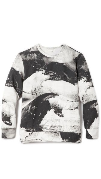 Printed whale sweats