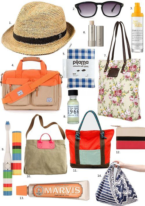 take it with you: travel essentials