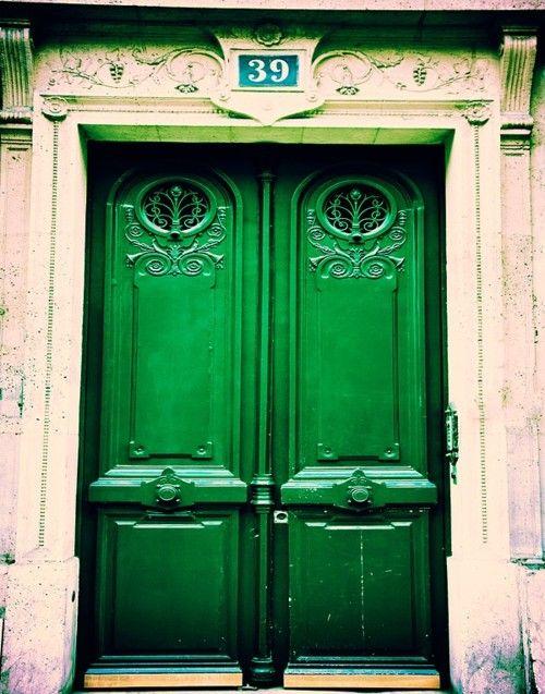 another green door