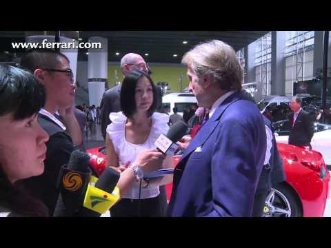 Ferrari at AutoShow 2012 Guangzhou, China