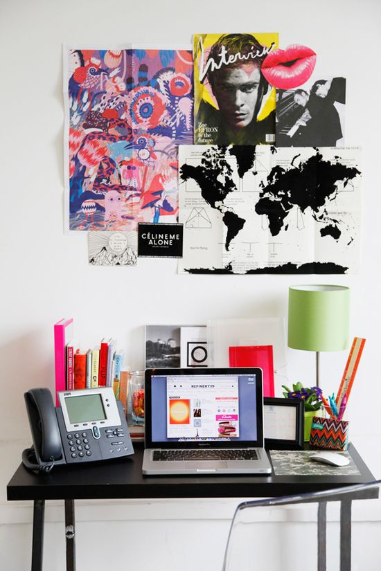 Cheap challenge! How to give your workspace a total makeover on a budget (Photos by Erin Yamagata)