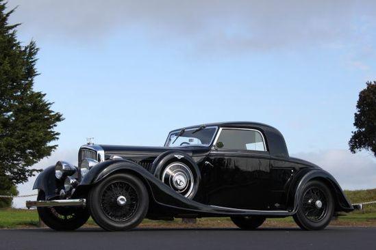 1935 Bentley 3 1/2 Litre Three-Window Fixed Head Coupe