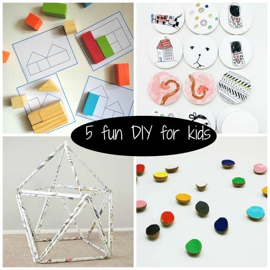 5 Fun DiY for Kids  petitspetitstreso...