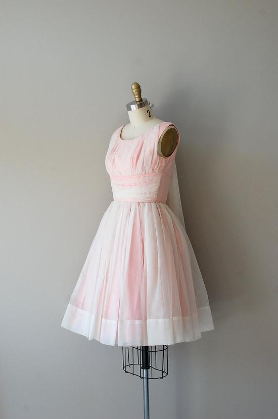 1950s dress / vintage 50s dress / The Yum Yum Girl. $188.00, via Etsy.