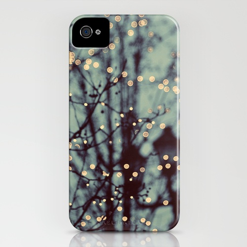 Winter Lights iPhone 4s Case