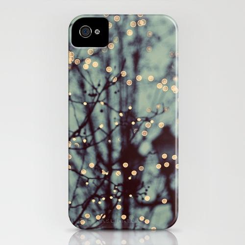 Winter Lights iPhone 4s Case