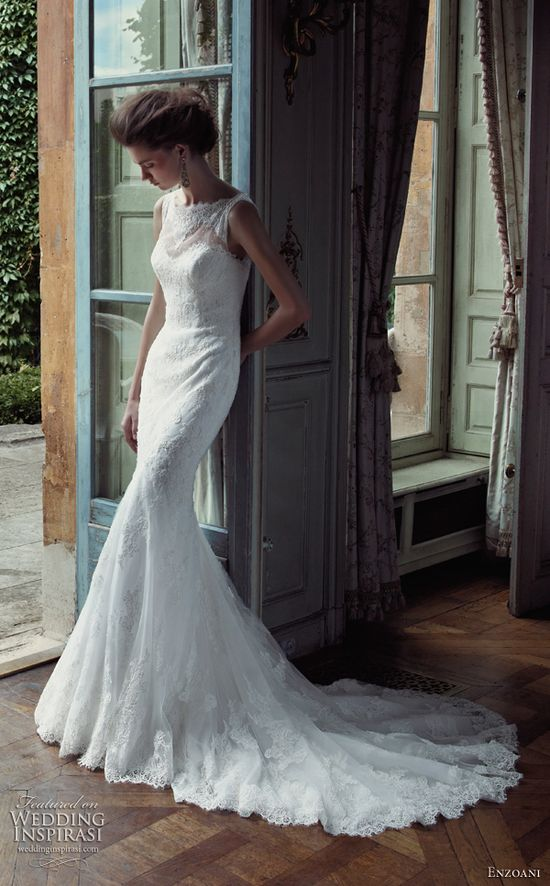 Enzoani 2013 Fada sleeveless gown