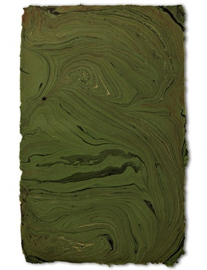 Handmade Marble Sheet, Kelly Green $7
