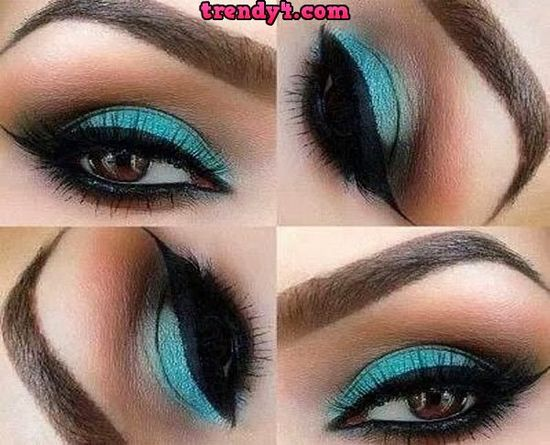 Latest Summer Eye Makeup Trends 2014