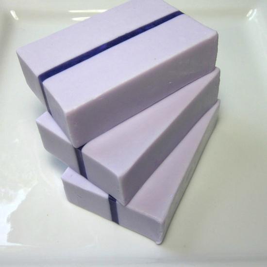 Lavender Chamomile Soap with Cocoa Butter