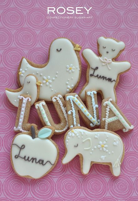 BABY COOKIES FOR LUNA by rosey sugar, via Flickr