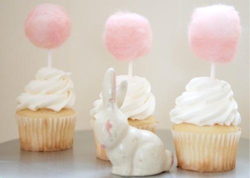 Cottoncandy cupcakes