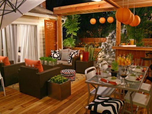 Patio design for the fall! - Home and Garden Design Ideas