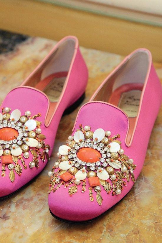 Fancy feet.