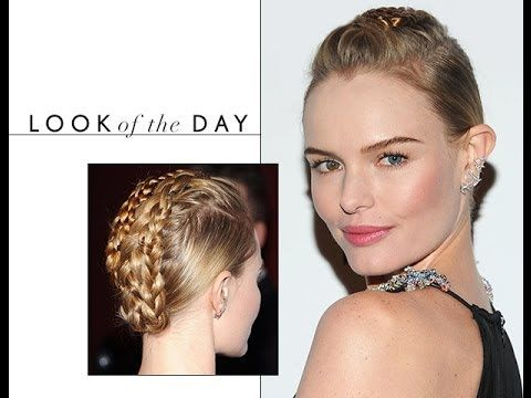Mohawk French Braid Inspired by Kate Bosworth