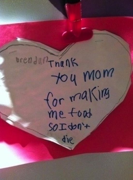 21 Hilarious Mothers And Fathers Day Cards Made By Kids