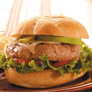 Burger recipes from Taste of Home