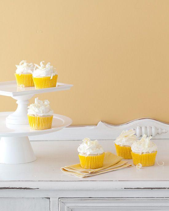 "Meyer Lemon Cupcakes. I cave to anything ""Meyer Lemon"" done right!"