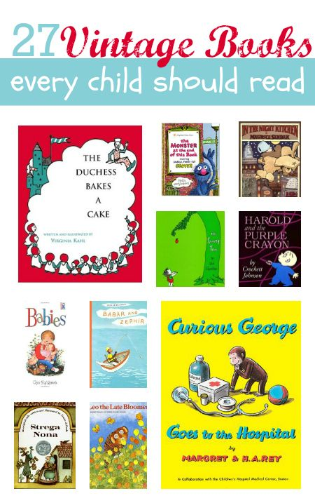 classic kids books every kid should read. So many of these were my favorites as a kid!