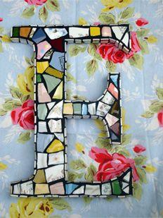 Pretty Mosaics from Broken China