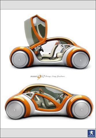 futuristic car concept... Peugeot 910. Diseño!!!