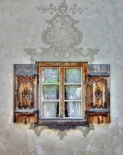 Bavarian Window #window