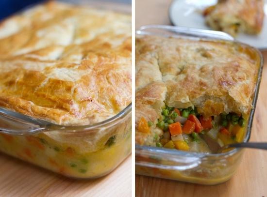 Fall Veggie Pot Pie