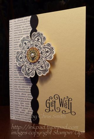 Flower stampin up