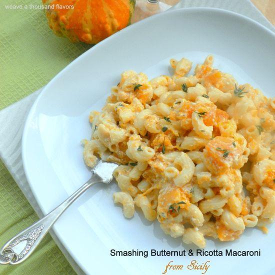 Smashing Butternut & Ricotta Macaroni