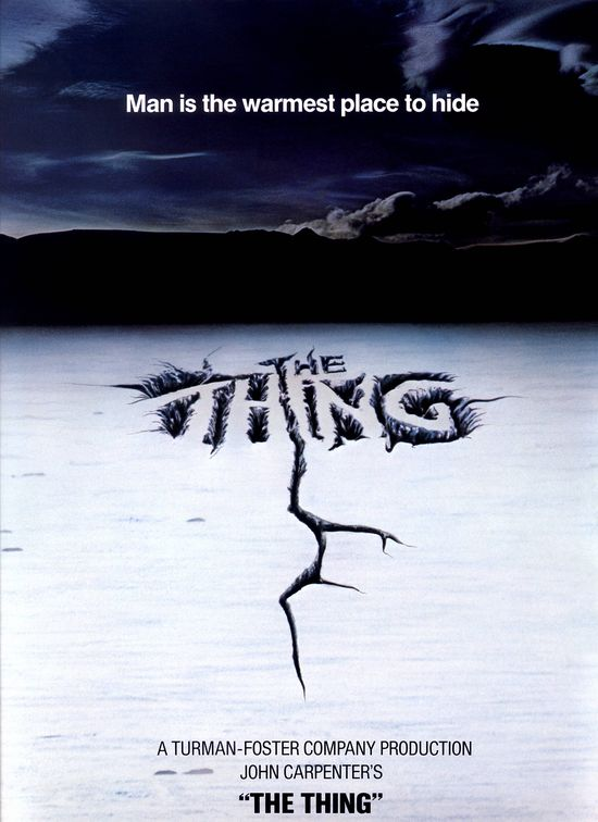 The Thing (1982)  #films #movies #80s #JohnCarpenter #posters #HighRes #HR