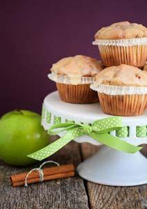 Maple apple cinnamon muffins