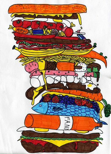 hamburger-fun break for 5th grade
