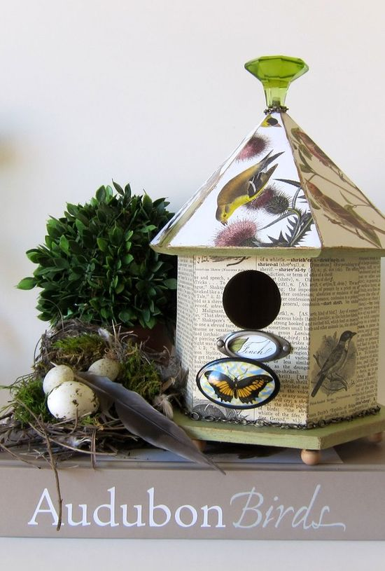 charming bird house