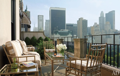 outdoor terrace for my NYC apt