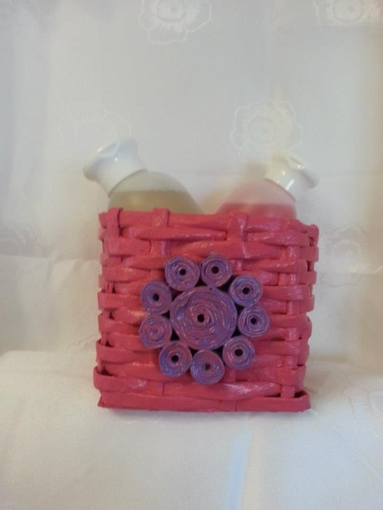 Handmade Paper Basket