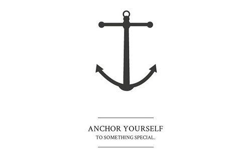 anchor yourself -ebw-