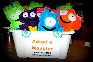Cute Monster Birthday Party Ideas