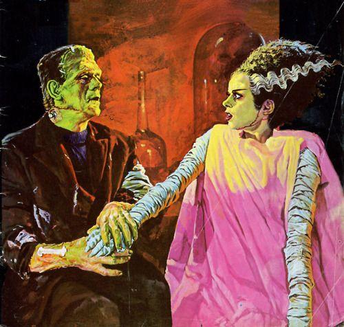 Frankenstein & Bride.
