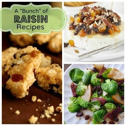 """A """"Bunch"""" of Raisin Recipes Your Family will Love @Spoonful"""