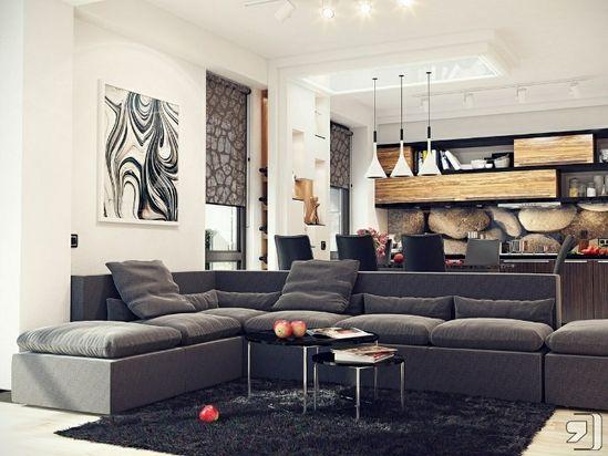 Creative Living Room  Ideas #KBHomes