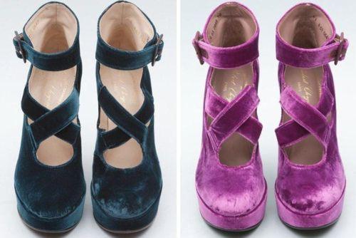 velvet ? #shoes