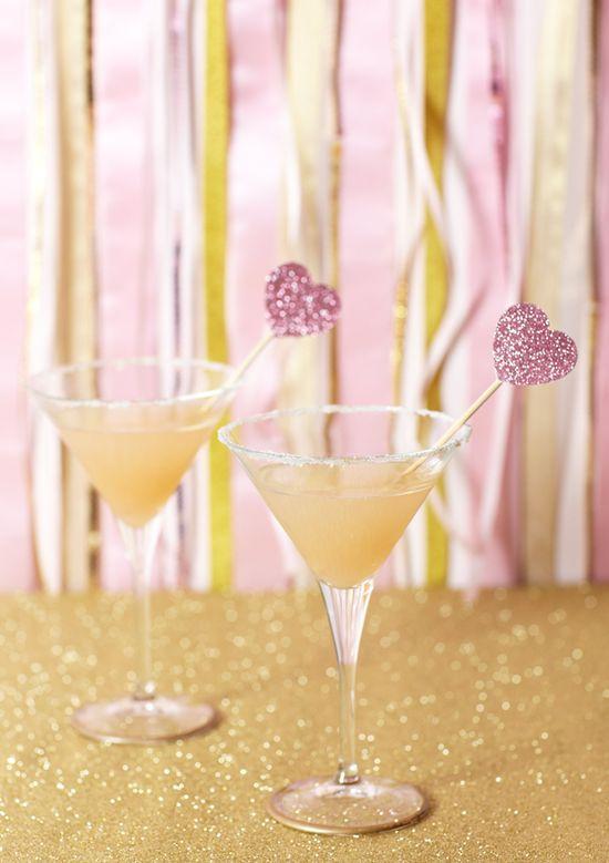 Pink Grapefruit Martinis