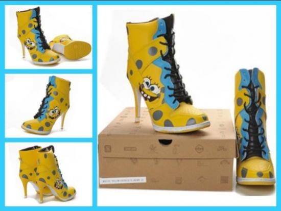 Spongebob High Heels Now?