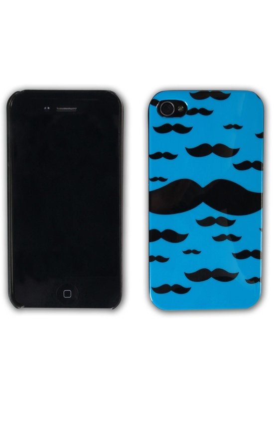 #mustache print #iphone case  $8.50