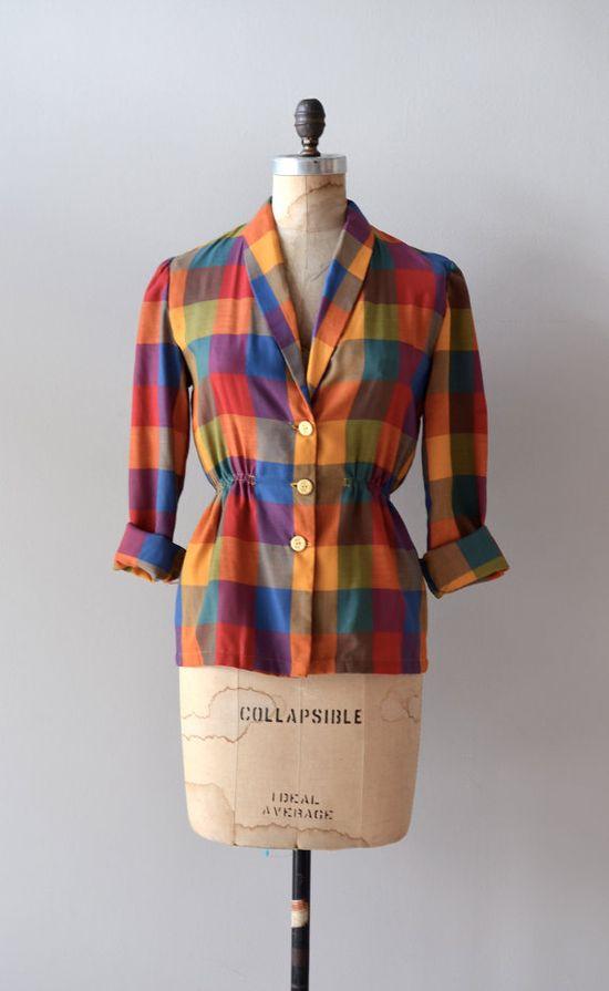 vintage 1950s Colorbox blouse    #1950s #vintage