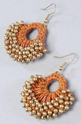 Orecchini Alluncinetto Con Perline Petit Crochet