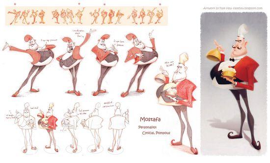 Faye Hsu - Character Design Page