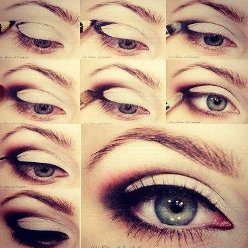 (makeup,eye makeup,eye shadow,diy,tutorial)