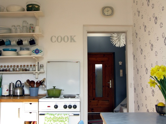 Adorable Small Kitchen.